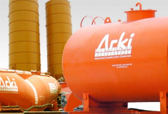 (أركي لكيميائيات البناء المتقدمة)  تقدم منتجاتها من خلال تطبيق أنظمة الأيزو