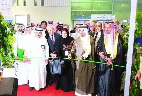وكيل وزارة المياه والكهرباء يفتتح معرض الطاقة السعودي بمشاركات محلية وعالمية واسعة