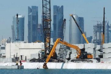 عقود الإنشاءات في منطقة الخليج العربي تتجاوز 194 مليار دولار لعام 2015