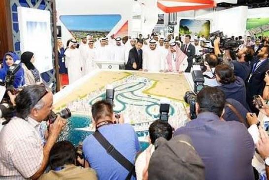 """فريق """"أملاك"""" يتابع الاهتمام الإعلامي والصحفي الذي يُحظي به سيتي سكيب دبي 2015"""