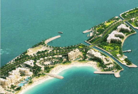 جزيرة المرجان ترسي عقد تشييد القناة المائية الرابعة تعزيزاً للقيمة الجمالية والبيئية