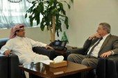 وكيل وزارة الاسكان للطلبات والتخصيص يستقبل مستشار الشؤون الاقتصادية للسفارة الأمريكية بالمملكة