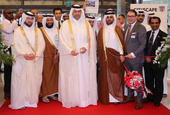 الشيخ حمد بن جاسم يفتتح المعرض.. سيتي سكيب قطر2017 ينطلق بكبرى المشاريع العقارية