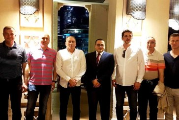 وزير أمن البوسنة والهرسك يزور الامارات ويشيد بمشاريع شركة دار التألق العقارية