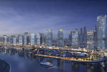 """على مساحة إجمالية تقارب 10 ملايين قدم مربع..  """"إعمار العقارية"""" تعتزم تطوير فندق ووحدات سكنية على واجهة""""دبي هاربر"""" المائية"""