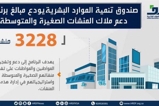 هدف يكمل إجراءات 3228 منشأة لصرف مستحقاتها من برنامج دعم ملاك المنشآت الصغيرة والمتوسطة