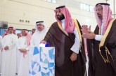 الأمير محمد بن سلمان يدشن ويضع حجر أساس أول مفاعل أبحاث نووي ومصنع لهياكل الطائرات