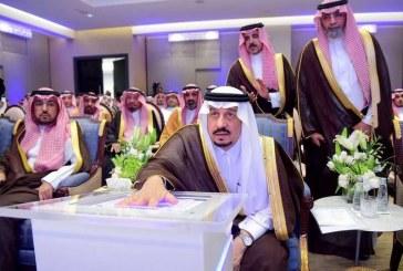 أمير منطقة الرياض يفتتح برج مصرف الراجحي ويشييد بجودة تعاملاته