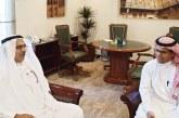 أمين أمانة المنطقة الشرقية يستقبل رئيس تحرير صحيفة أملاك ويؤكد دعم وتحفيز الأمانة للمستثمرين