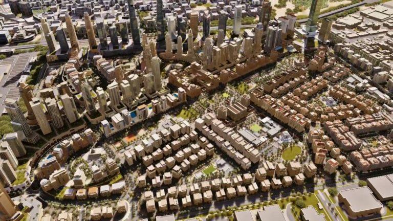 مخطط سكني تجاري - مخطط درب الحرمين